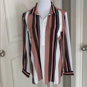 NWT Ann Taylor blouse size Large Petite